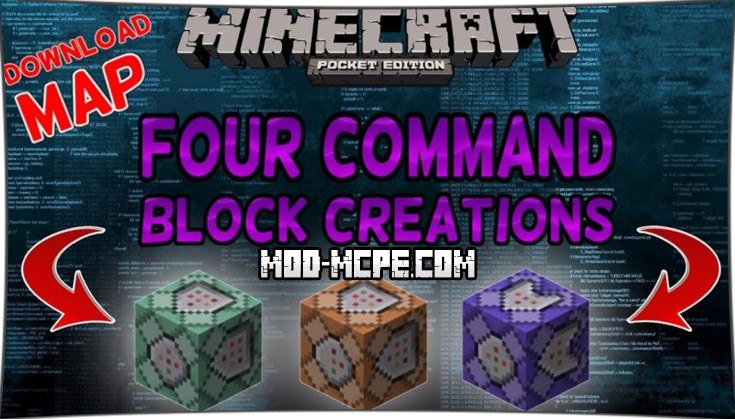 Command Blocks - мод на командный блок 1.2.5, 1.2, 1.1.5