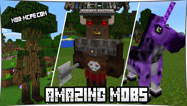 Amazing Mobs 1.2.10, 1.2.5, 1.2, 1.1.5
