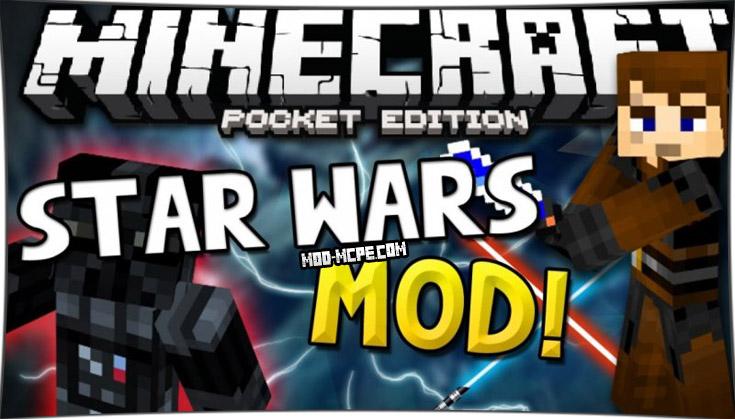 Star Wars - мод на звёздные войны 1.4, 1.2.10, 1.2, 1.1.5