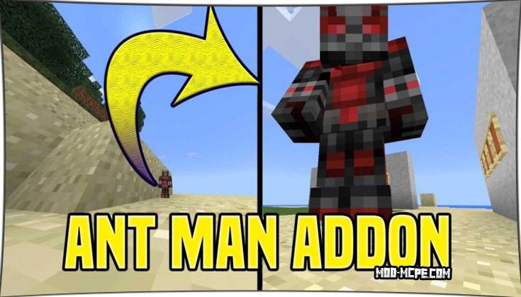 Ant-Man - мод на человека муравья 1.4, 1.2.10, 1.2, 1.1.5